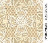 seamless decorative lace... | Shutterstock .eps vector #1160107228