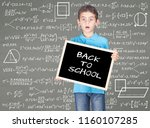 back to school concept with...   Shutterstock . vector #1160107285