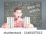 back to school concept with...   Shutterstock . vector #1160107312