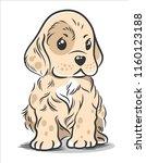 vector illustration of a cute ... | Shutterstock .eps vector #1160123188