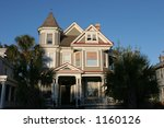 Victorian House Architecture - stock photo