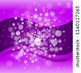 winter border with ultraviolet...   Shutterstock .eps vector #1160127265