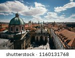 old town square in prague | Shutterstock . vector #1160131768