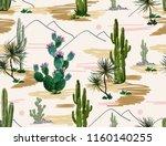 beautiful seamless vector... | Shutterstock .eps vector #1160140255