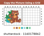 copy the picture  an... | Shutterstock .eps vector #1160178862