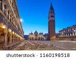 San Marco Square Illuminated In ...