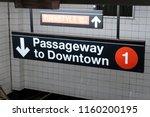 new york  usa   may 21  2018 ...   Shutterstock . vector #1160200195