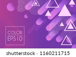 abstract colorful geometric... | Shutterstock .eps vector #1160211715