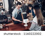 customer self service order... | Shutterstock . vector #1160222002