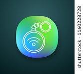 nfc trinket app icon. near...