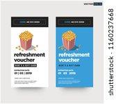 free gift voucher refreshment...   Shutterstock .eps vector #1160237668