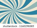 retro starburst or sunburst... | Shutterstock .eps vector #1160298385