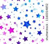 space galaxy constellation... | Shutterstock .eps vector #1160314852