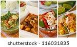 Collage Photos Of Popular Thai...