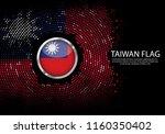 background halftone gradient... | Shutterstock .eps vector #1160350402