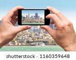 san francisco bay  taking... | Shutterstock . vector #1160359648
