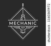 auto mechanic service. mechanic ... | Shutterstock .eps vector #1160365972