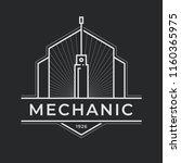 auto mechanic service. mechanic ... | Shutterstock .eps vector #1160365975