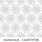 abstract geometric pattern with ... | Shutterstock .eps vector #1160374708