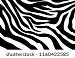 zebra stripes pattern. zebra... | Shutterstock .eps vector #1160422585