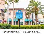 sign in venice  small florida... | Shutterstock . vector #1160455768