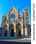 siena cathedral  duomo di siena ...   Shutterstock . vector #1160467132