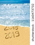 2019 new year celebration by... | Shutterstock . vector #1160473732