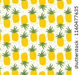seamless pattern with... | Shutterstock .eps vector #1160477635