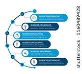 modern infographics template | Shutterstock .eps vector #1160489428