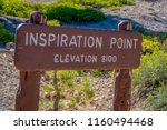 bryce canyon  utah  june  07 ... | Shutterstock . vector #1160494468