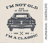 70 birthday anniversary gift... | Shutterstock .eps vector #1160561242