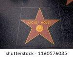 los angeles  california  usa ... | Shutterstock . vector #1160576035