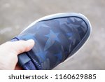sellers  are  selling  shoes. | Shutterstock . vector #1160629885