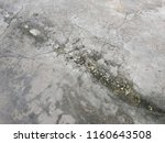 dirty stain on concrete road...   Shutterstock . vector #1160643508