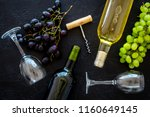 composition with wine bottles.... | Shutterstock . vector #1160649145