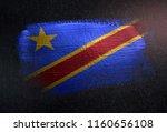 democratic republic of the... | Shutterstock . vector #1160656108