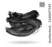 grey brush stroke and texture....   Shutterstock .eps vector #1160657335