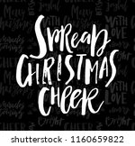 merry christmas card with... | Shutterstock .eps vector #1160659822