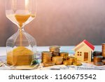 saving money for retirement... | Shutterstock . vector #1160675542