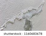 peeling cracked paint flaking... | Shutterstock . vector #1160683678