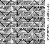 seamless pattern. geometrical... | Shutterstock . vector #1160686168