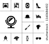 accessory icon. collection of... | Shutterstock .eps vector #1160686402
