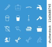 handle icon. collection of 16... | Shutterstock .eps vector #1160688745