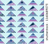 seamless pattern. geometrical... | Shutterstock . vector #1160689075
