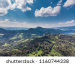 beautiful pieniny mountains in... | Shutterstock . vector #1160744338