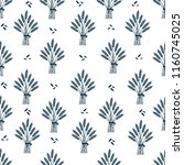 seamless pattern with whole... | Shutterstock .eps vector #1160745025