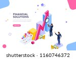 financial research concept.... | Shutterstock . vector #1160746372