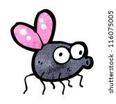 cartoon fly   Shutterstock .eps vector #116075005