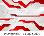 red and grey abstract... | Shutterstock .eps vector #1160752078