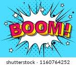 comics boom  comic vector... | Shutterstock .eps vector #1160764252
